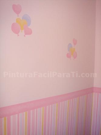 Pintura de habitaci n para beb parte 6 pintura facil - Pintura habitaciones ninos ...