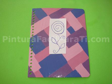Como adornar el cuaderno imagui - Como decorar cuadernos ...