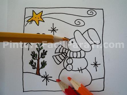 Dibujos para tarjetas navideas simple good tarjetas - Dibujos para postales navidenas ...