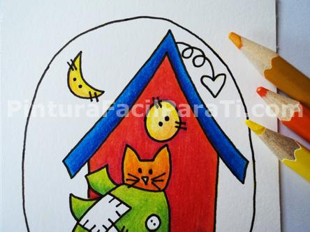 gato-para-colorear
