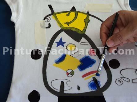 Pintar camisetas pintura facil para ti part 2 - Pintura para camisetas ...