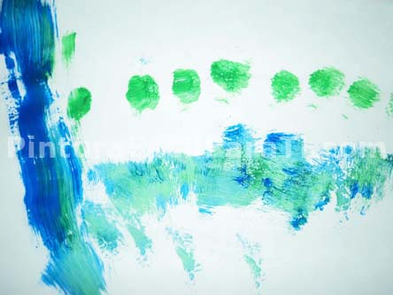 niños-pintura
