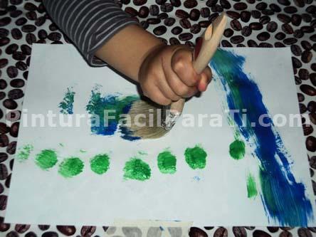 pintar-con-niños