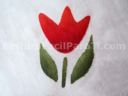 pintar-tulipanes