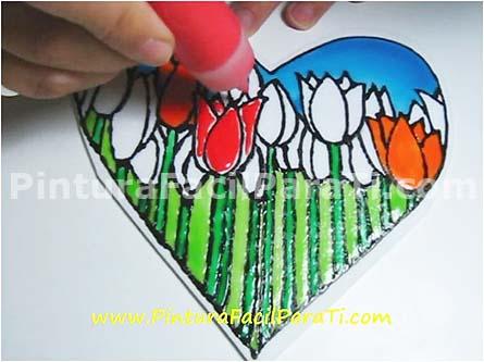 corazón-para-pintar