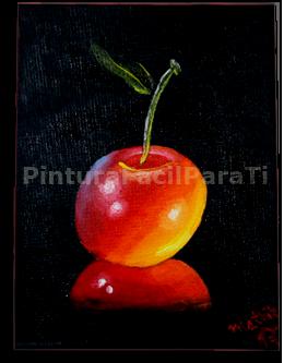 pintura-al-oleo-cereza