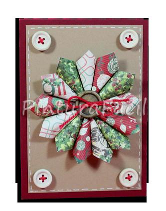 Como hacer una tarjeta navide a con corona de adviento - Hacer una tarjeta navidena ...