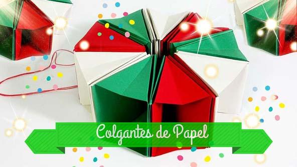 Origami decoracion navidad - Decoracion navidad papel ...