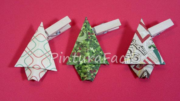 Origami adornos navide os de rbol de navidad manualidades for Adornos navidenos origami paso a paso