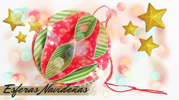 Adornos navide os esferas de papel pintura facil para ti for Adornos navidenos caseros faciles